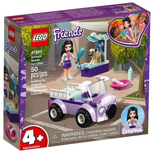 樂高積木 LEGO《 LT41360 》Friends 姊妹淘系列 - 艾瑪的動物醫療車╭★ JOYBUS玩具百貨