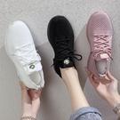 運動鞋 網面鏤空織物透氣運動鞋女2020夏季新款韓版百搭學生休閒跑步鞋子