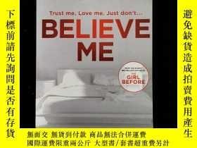 二手書博民逛書店英文原版罕見Believe MeY254456 jp delaney quercus ISBN:9781787