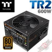 [ PC PARTY ] 曜越 Thermaltake TR2 600W 銅牌 電源供應器 (台中、高雄)