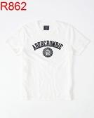 AF A&F Abercrombie & Fitch A & F 男 當季最新現貨 短袖T恤 AF R862
