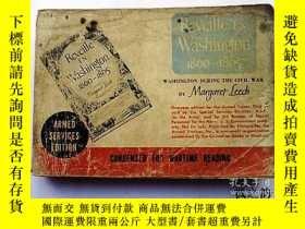 二手書博民逛書店【英文原版】Reveille罕見In Washington 1860~1865:Washington During