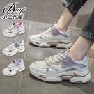 女老爹鞋 韓版網面小白鞋厚底增高運動鞋學生鞋【JPG99131】