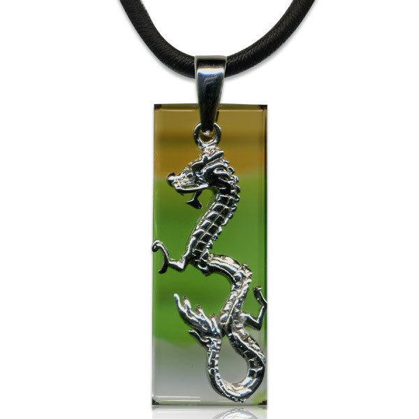鹿港窯~開運古法水晶琉璃銀飾項鍊~唯我獨尊◆ 附精美包裝◆免運費送到家
