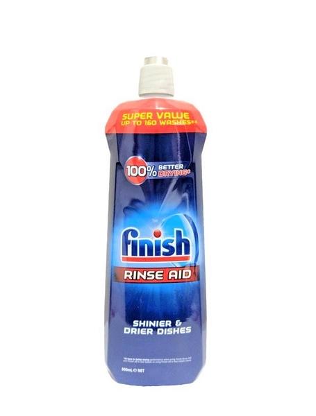 英國進口 Finish 洗碗機專用 光亮沖洗清潔劑 ( Original 原味) 大瓶裝800ml