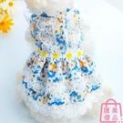 寵物衣服狗狗連衣裙子泰迪比熊小型犬衣服夏季薄款【匯美優品】