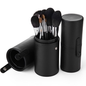 化妝收納筒 便攜化妝刷桶收納筒刷桶帶蓋ins風刷子桶防塵