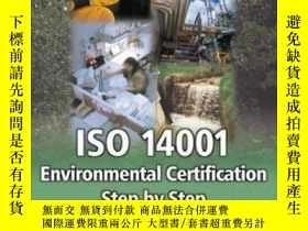 二手書博民逛書店Iso罕見14001 Environmental Certification Step By Step: Revi