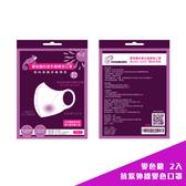 ◤台灣專利◢ 變色龍抗紫外線變色口罩 2入