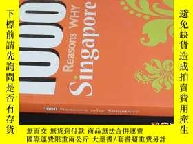 二手書博民逛書店1000罕見Reasons why singapore5919