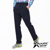 PolarStar 男防潑水保暖紳士褲『灰藍』P19417 休閒褲.登山褲.運動褲.保暖褲.吸濕排汗.台灣製造.MIT