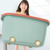 佳幫手兒童玩具收納箱筐家用儲物盒塑料盒子寶寶衣服抖音同款整理 ATF青木鋪子