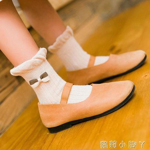 兒童襪子春秋季純棉1-3-5-7-9歲女童無骨中筒棉襪女孩寶寶 蘿莉小腳ㄚ