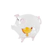 金豬報喜琉璃藝品
