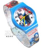 Disney 迪士尼 時尚卡通手錶 漫威 復仇者聯盟 美國隊長 兒童手錶 數字男錶 藍色 D美國隊長大-1