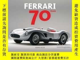 二手書博民逛書店Ferrari罕見70 YearsY255562 Dennis Adler Motorbooks Intern