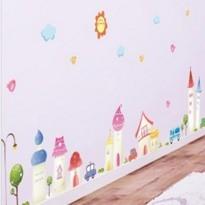 ►壁貼 創意壁貼 卡通牆貼紙 家裝貼可移除壁貼壁紙【A3058】