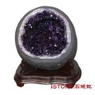 天然紫水晶洞 O (16.72公斤聚寶盆) 石頭記