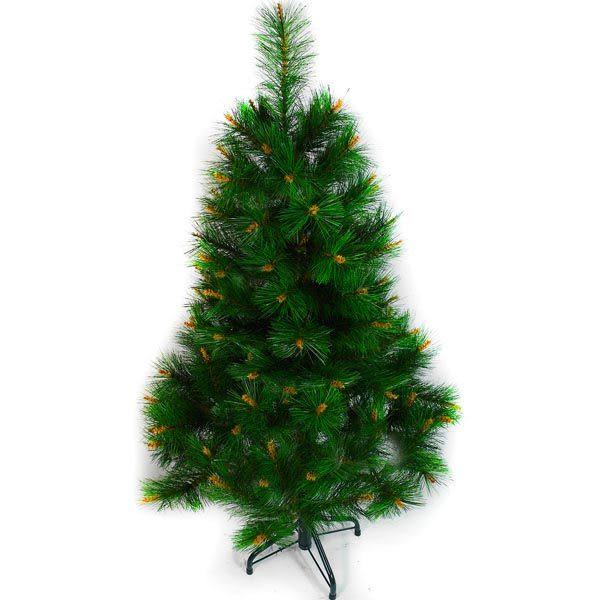 台製豪華型4尺/4呎(120cm)經典綠色聖誕樹 裸樹(不含飾品不含燈)本島免運費