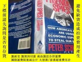 二手書博民逛書店英法德意等原版外文罕見FRIENDLY SPIES how American's allies are using