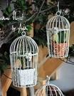 花園雜貨 歐式鐵藝裝飾鳥籠影樓道具...