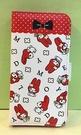 【震撼精品百貨】My Melody 美樂蒂~美樂蒂 IPHONE6/6S 摺疊手機套-紅白色