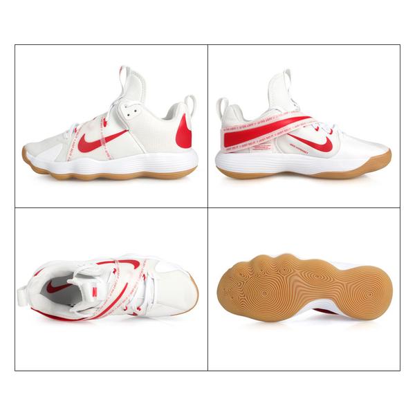 NIKE REACT HYPERSET 男排球室內運動鞋(免運 訓練 襪套 魔鬼氈≡排汗專家≡