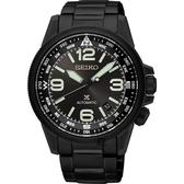 SEIKO 精工 Prospex 空軍爭霸機械錶-鍍黑/42mm 4R35-01N0SD(SRPA73J1)