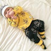 嬰兒長袖套裝  長袖上衣+長褲 童裝 SK203 好娃娃