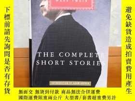 二手書博民逛書店The罕見Complete Short Stories Of Mark Twain 馬克吐溫短篇全集 everym