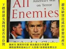 二手書博民逛書店Against罕見All Enemies : Inside America s War on TerrorY1
