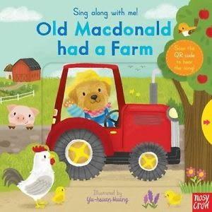 【幼兒操作書/附線上歌曲】OLD MACDONALD HAD A FARM /歌謠拉拉書《主題:歌謠.操作》