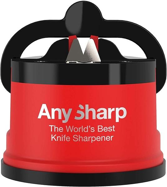 [2美國直購] 英國 AnySharp 紅色 磨刀器 AnySharp ASKSPRO Knife Sharpener