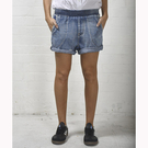 OneTeaspoon 牛仔短褲 破褲COBAIN HUNTERS - 女(復古藍)3