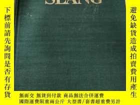 二手書博民逛書店Dictionary罕見of AMERICAN SLANG Second Supplemented Edition