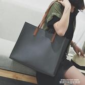 購物袋手提包女大包韓版側背包大容量斜背包潮流百搭簡約購物袋洋氣時尚 萊俐亞