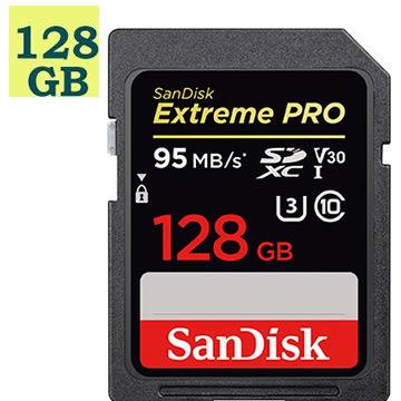SanDisk 128GB 128G SDXC【95MB/s】Extreme Pro 633X SD UHS 4K U3 Class 3 C10 V30 SDSDXXG-128G 原廠包裝 相機記憶卡