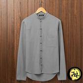 禪服 中式男裝中國風棉麻長袖襯衫立領亞麻盤扣襯衣復古唐  GB949 『優童屋』