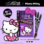 《限宅配》Miki Queen 超防水抗暈眼線膠筆 (Hello Kitty限定版) 1.3g【新高橋藥妝】3色供選~效期:2019.05