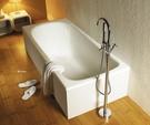 【麗室衛浴】美國KARAT 崁入式鑄鐵浴缸 120*70*39CM
