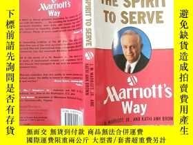 二手書博民逛書店The罕見Spirit to Serve Marriots Way(外文原版)Y427935