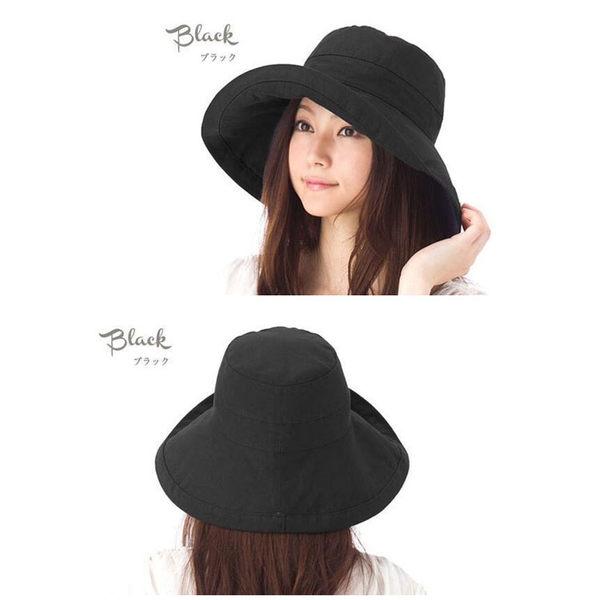 遮陽帽 日系大帽沿 女生夏天戶外防紫外線沙灘帽子 透氣遮陽帽 可折疊 防曬 小臉帽
