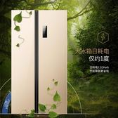 冰箱雙開門對開門家用風冷變頻電 法布蕾輕時尚igo220V