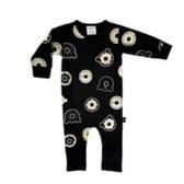 兒童連身衣 幼童連身 有機棉 澳洲 HUXBABY 有機棉連身衣 - 甜甜圈