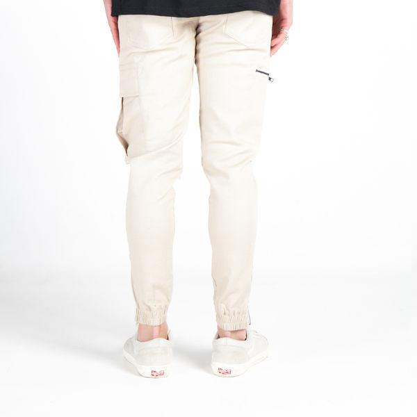 FAIRPLAY IKE - NATURAL  縮口褲 長褲 休閒 【GT Company】