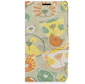 ♥ 俏魔女美人館 ♥ SONY Xperia T3 / D5103 {貓咪*側翻套} 手機殼 手機套 保護殼 保護套
