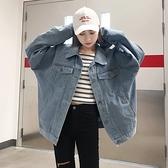 牛仔外套 春季新款韓版學院風氣質休閒寬鬆百搭牛仔外套女學生上衣潮