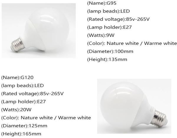 大龍珠G95造型大燈泡 經典款玻璃圓球 9W愛迪生E27美式鄉村LOFT餐廳咖啡廳酒吧居家