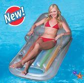 游泳圈 水上充氣浮排浮床沖浪躺椅漂流游泳圈坐騎成人加厚 芭蕾朵朵