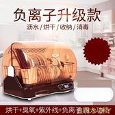 消毒櫃立式家用迷你小型消毒碗櫃廚房烘干保潔櫃碗筷收納盒 220v igo全館免運